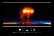 Power Motivational Poster by Stocktrek Images