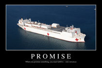 Promise Motivational Poster by Stocktrek Images