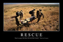 Rescue Motivational Poster by Stocktrek Images