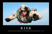 Risk Motivational Poster by Stocktrek Images