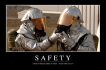 Safety Motivational Poster von Stocktrek Images