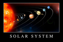 Solar System Poster by Stocktrek Images
