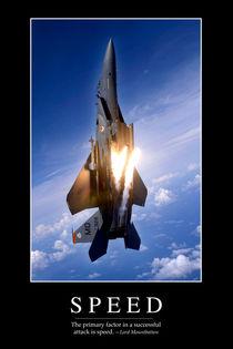 Speed Motivational Poster von Stocktrek Images