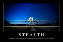 Stealth Motivational Poster von Stocktrek Images