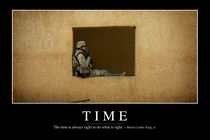 Time Motivational Poster by Stocktrek Images