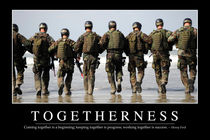 Togetherness Motivational Poster by Stocktrek Images