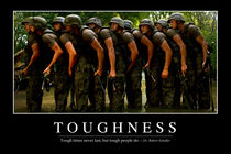 Toughness Motivational Poster by Stocktrek Images