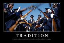 Tradition Motivational Poster von Stocktrek Images
