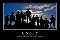 Unity Motivational Poster by Stocktrek Images