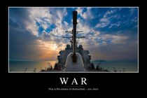 War Motivational Poster by Stocktrek Images