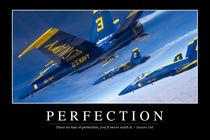 Perfection Motivational Poster von Stocktrek Images