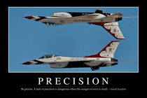 Precision Motivational Poster by Stocktrek Images