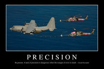 Precision Motivational Poster von Stocktrek Images