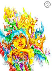 Dreaming girl 03 von dermillionenmaler