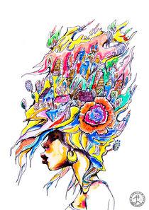 Babylon Woman 2  von dermillionenmaler