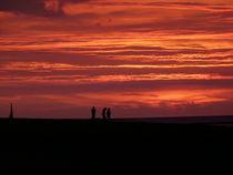 Sonnenuntergang in Puttgarden  von Simone Marsig