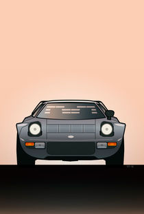 Modern Euro Icons Car Series Lancia Stratos HF Tipo 829 by monkeycrisisonmars