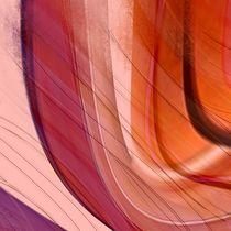 Farbverlauf lila und orange by Christine Bässler