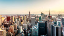 Late Afternoon New York Skyline by Sascha Kilmer