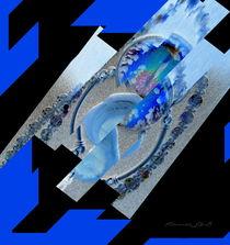 Butterfly Blue by Panda Broad