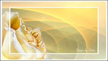 Digital Sonnige Rose von bilddesign-by-gitta