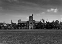 University College Main Building Toronto Canada by Brian Carson