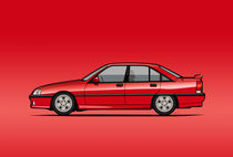 Opel Omage A, Vauxhall Carlton 3000 Gsi 24V by monkeycrisisonmars