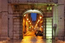 Lissabon : Rua dos Sapateiros in der Baixa von Torsten Krüger