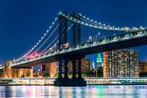Manhattan Bridge, New York City by Sascha Kilmer