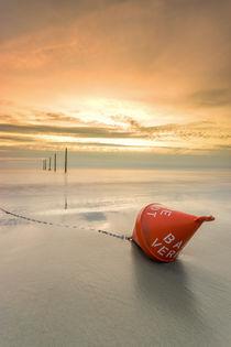 Bade Verbot Strand St Peter Ording Nordsee by Dennis Stracke