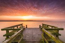 Sonnenaufgang am Badesteg by Dennis Stracke