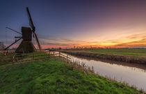 Sonnenuntergang am Honigfleet by Dennis Stracke