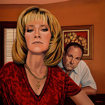 The Sopranos Painting by Paul Meijering