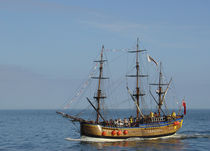Bark Endeavour, Whitby by Rod Johnson