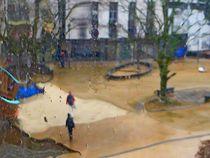 Im Regen von Hella Schümann