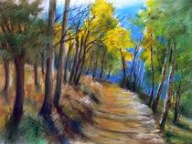 'Weg im Wald / Path in the Forest' by J.P. Texon