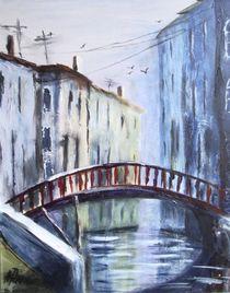 Brücke in Venedig by Hildegunde Riemann