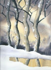 Winter Forest von Malcolm Snook