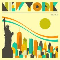 NEW YORK von Jazzberry  Blue