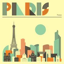 PARIS von Jazzberry  Blue