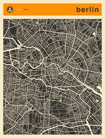 BERLIN MAP by Jazzberry  Blue