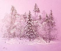 Winter forest by Aleksandr Petrunin