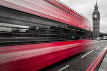 London Westminster Bus I von elbvue von elbvue