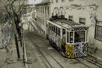 Lisbon Funicular  by Rob Hawkins