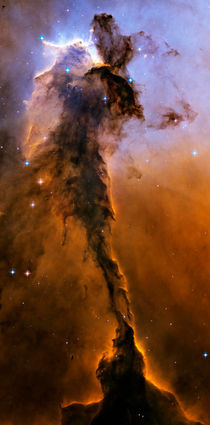 Stellar Spire in the Eagle Nebula. von Stocktrek Images
