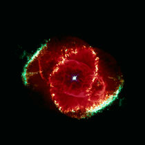 Cats Eye Nebula by Stocktrek Images