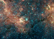 Massive Star Cluster by Stocktrek Images