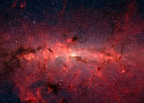 The center of the Milky Way Galaxy. by Stocktrek Images