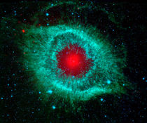 Helix nebula by Stocktrek Images