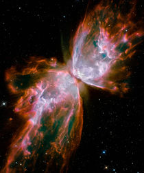 The Butterfly Nebula von Stocktrek Images